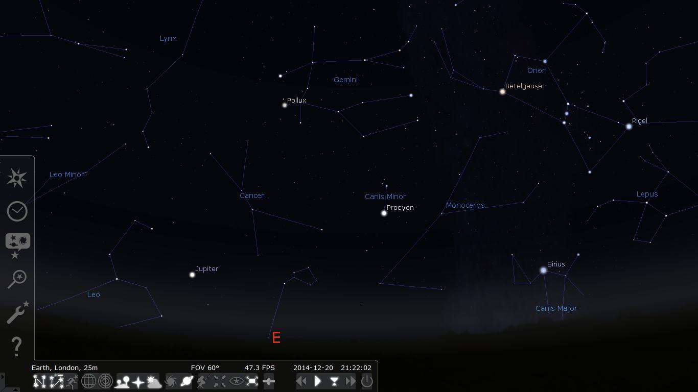 stargazing with desktop astronomy software