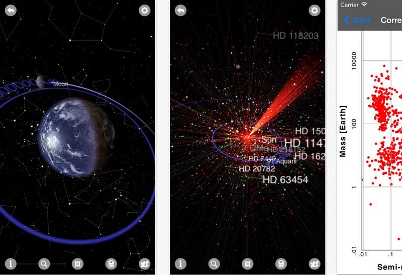 exoplanet app