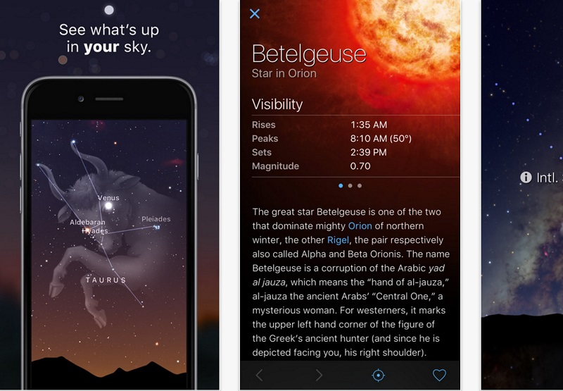 sky guide app